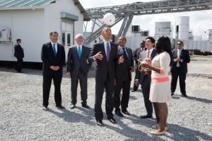 Obama at the Ubongo Power Plant, Dar es Salaam, Tanzania July 2, 2013