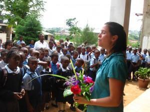 Laura visits Tassah Academy