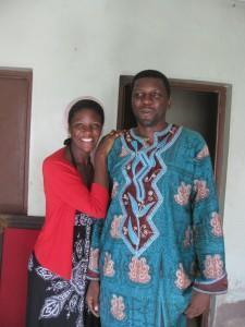 The dynamic brother sister pair! Janet with her brother Mike, head of COMINSUD, a nonprofit in Bamenda working on community development