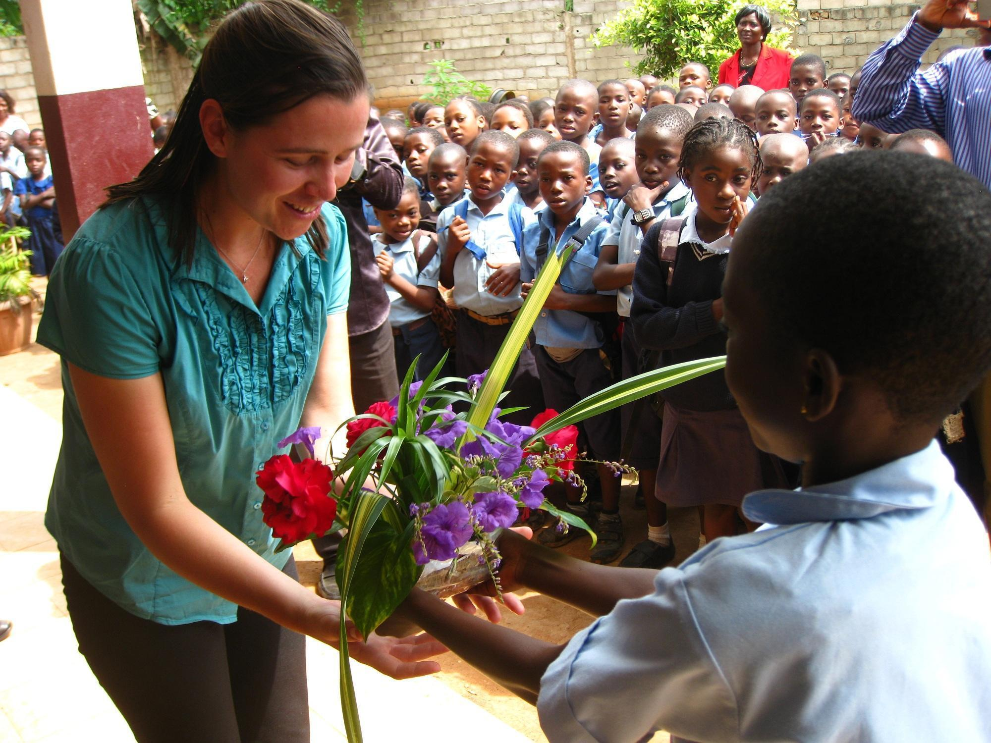 Making virtual classroom connections a reality in cameroon for Laura dunn minimalist living now