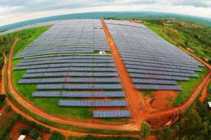 Huge solar array Africa