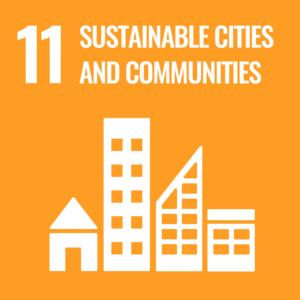 UN Sustainable Development Goal 11 logo