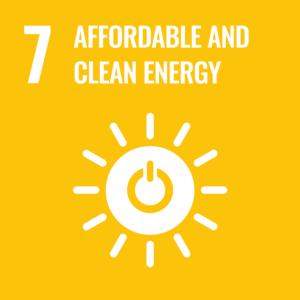 UN Sustainable Development Goal 7 logo