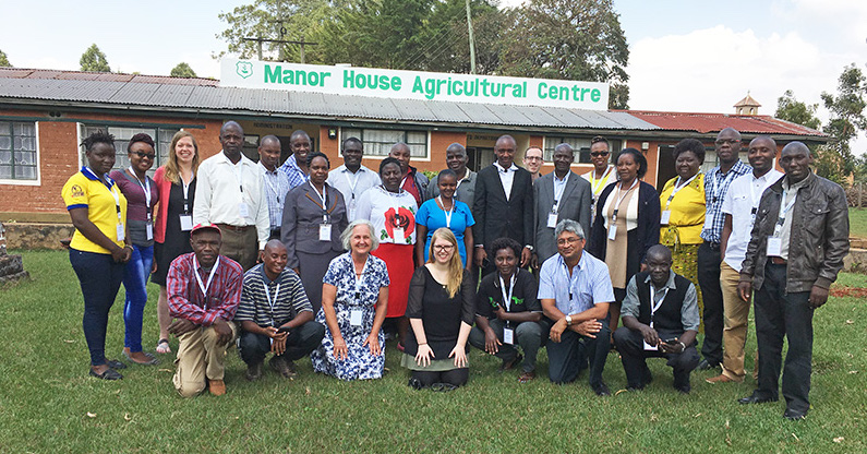 Manor House Agricultural Center team